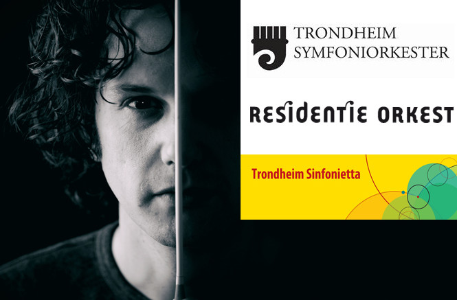 Nicholas conducts Trondheim Symphony and Sinfonietta followed by Residentie Orkest
