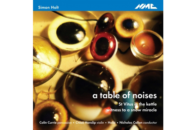 a table of noises recording